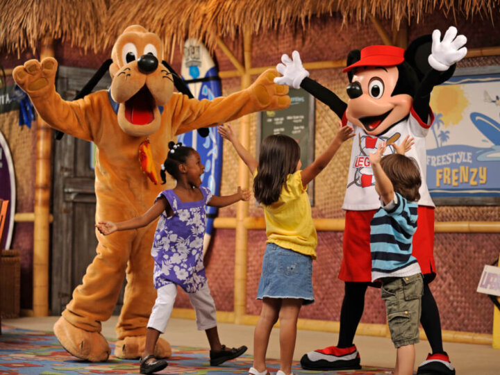 Surf's Up! Breakfast with Mickey & Friends, Disney's PCH Grill on one Disneyland Character Dining option