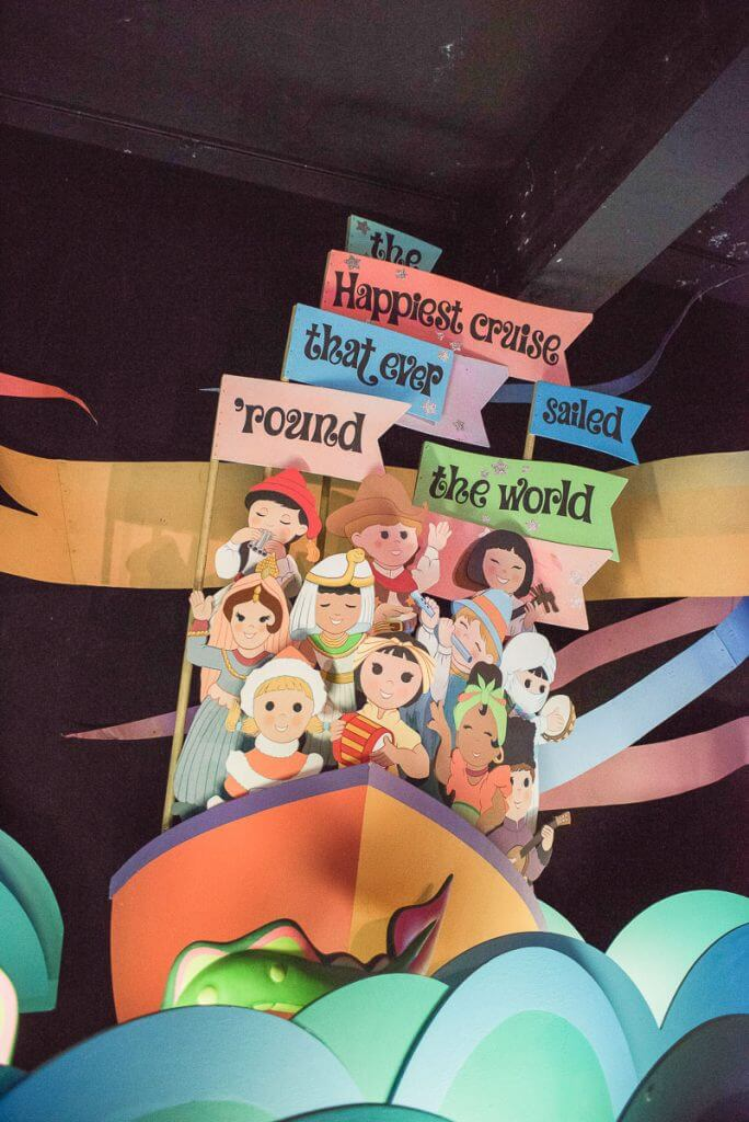 """it's a small world"" at Disneyland is the perfect Disneyland rides for toddlers"