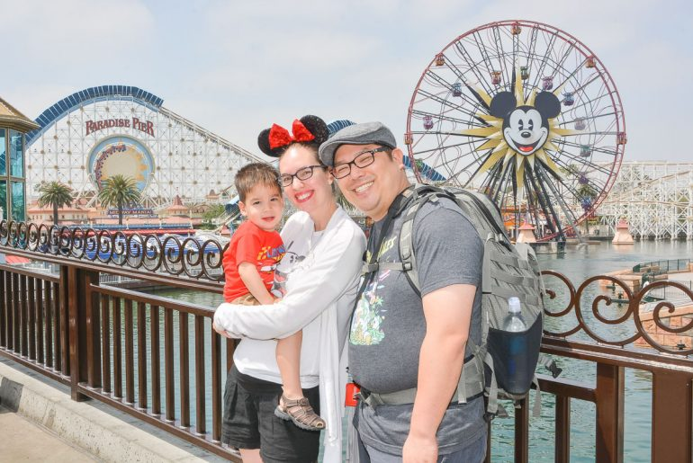 Traveling to Disneyland with a toddler is a fun family vacation