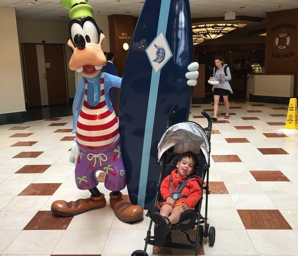 If you're heading to Disneyland with toddlers, Disney's Paradise Pier Hotel is great for families visiting Disneyland with babies, toddlers or preschoolers.