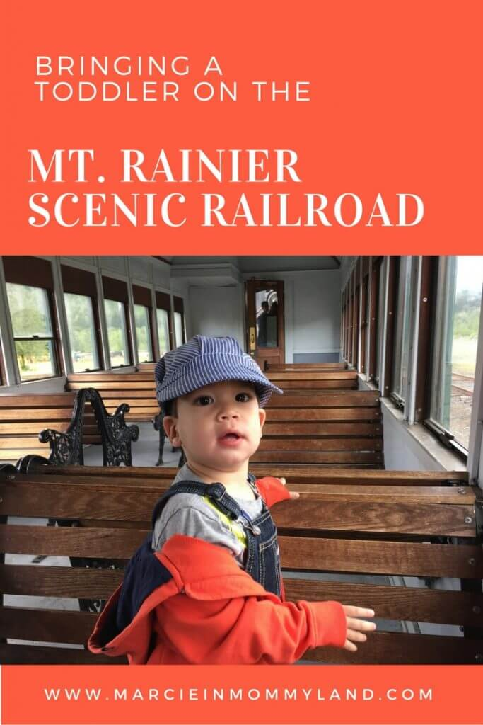 Bringing a toddler on the Mt. Rainier Scenic Railroad