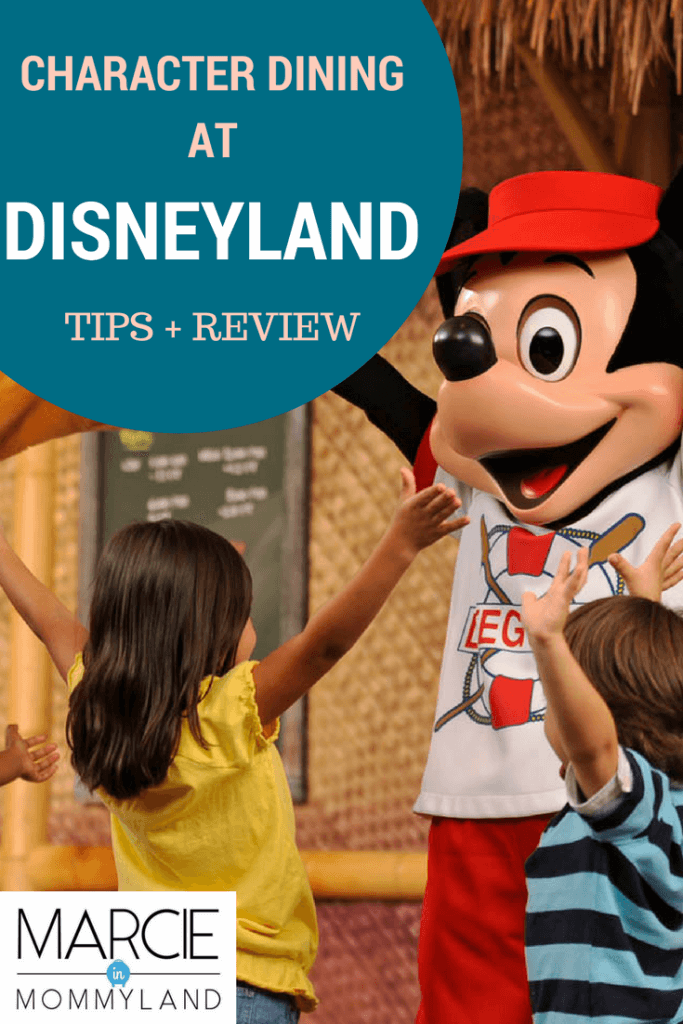 Disneyland character dining includes Disneyland character breakfast, Disneyland character lunch, and Disneyland character dinner.