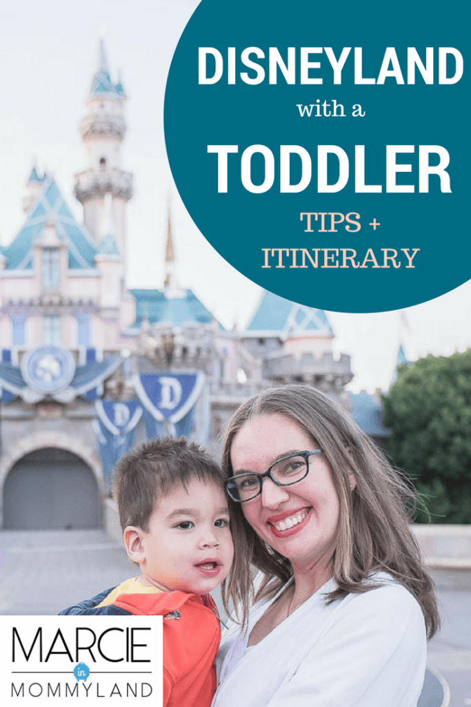Exploring Disneyland with toddlers for a first trip to Disney with kids
