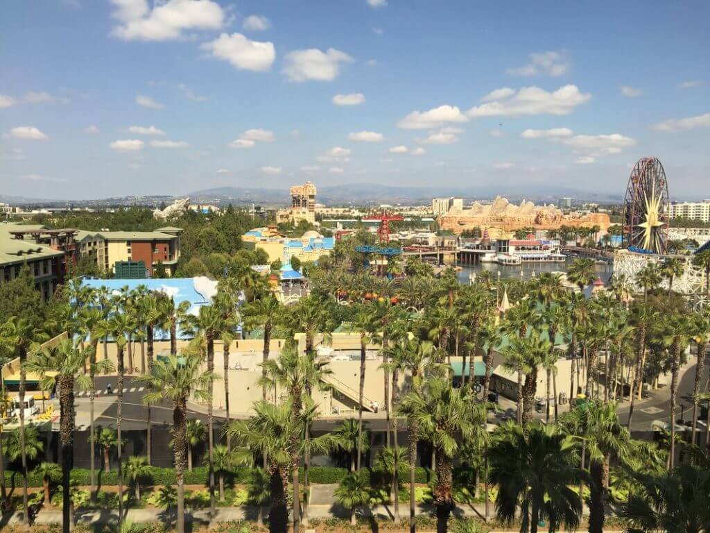 Disney's Paradise Pier hotel was perfect for traveling to Disneyland with a toddler