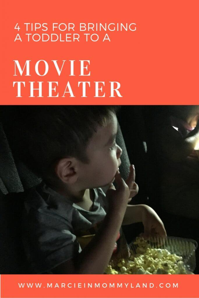 4 Tips for bringing a toddler to the movie theater