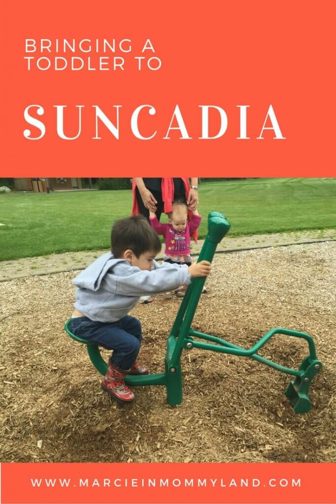 Bringing a toddler to Suncadia