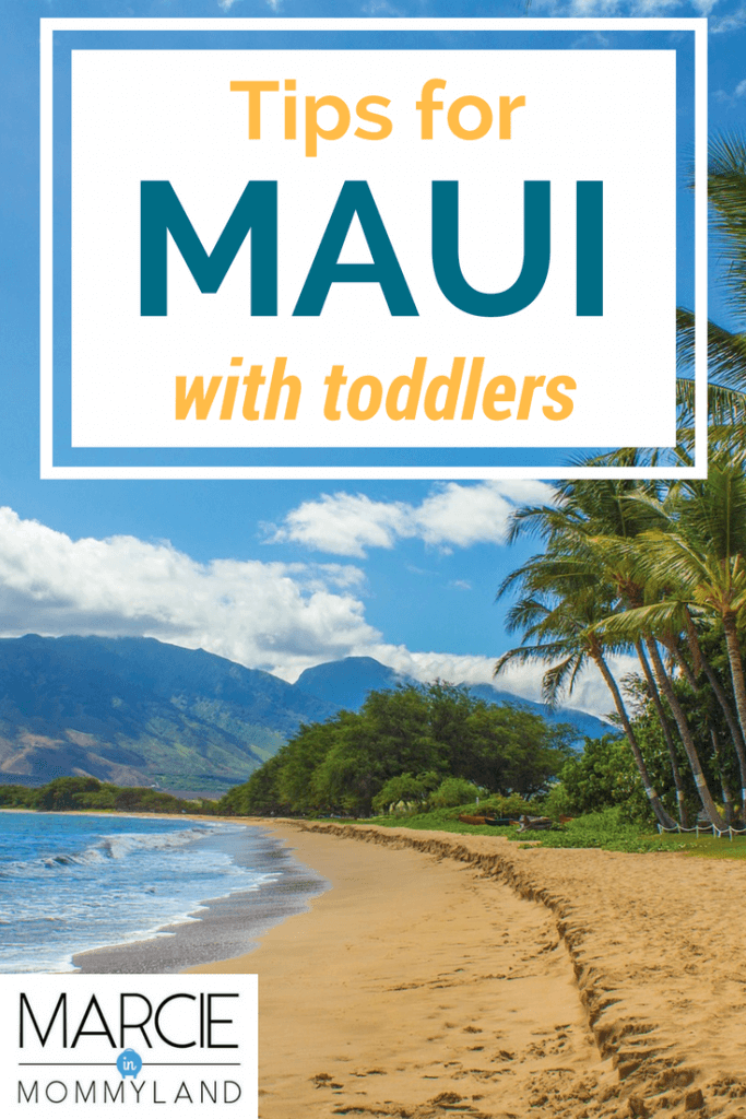Tips and tricks for exploring Maui with toddlers on a Hawaiian vacation.