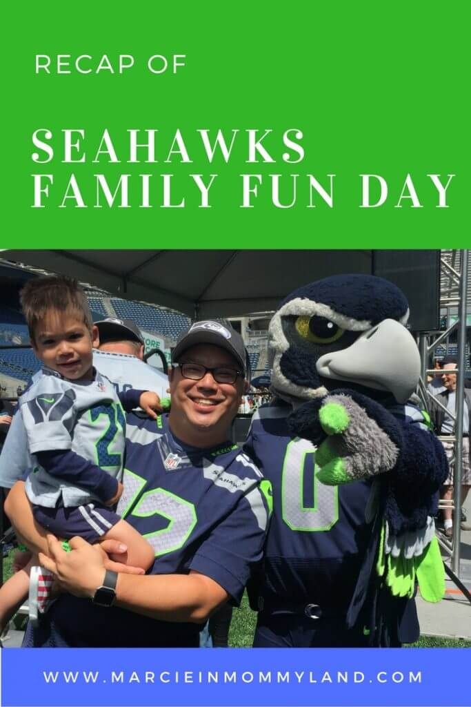 Recap of Seahawks Family Fun Day