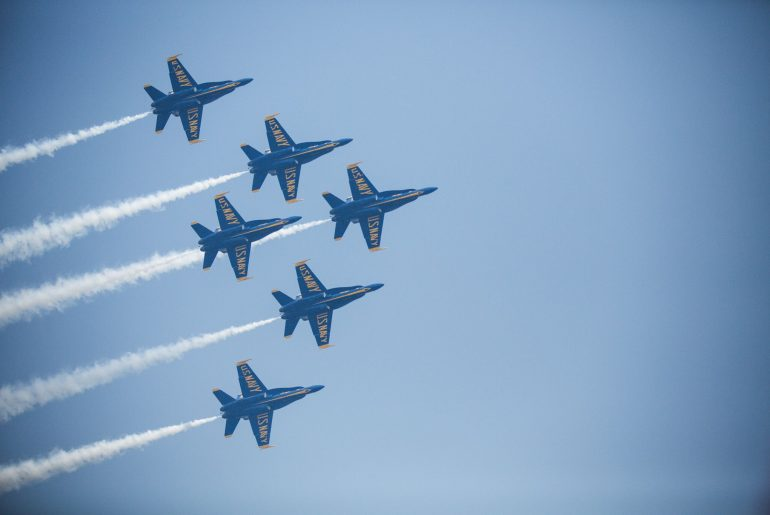 Photo of the Blue Angels at Seattle Seafair Festival #seafair #seafairissummer #seattlewa #blueangels