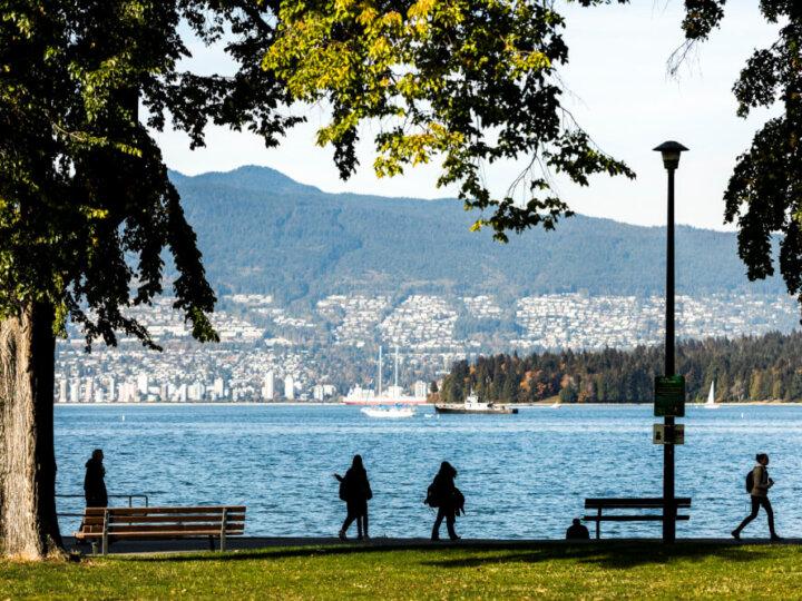 Photo of Kitsilano English Bay at Stanley Park in Vancouver, BC Canada #kitsilano #englishbay #vancouver #bc #britishcolumbia #vancouverbc #stanleypark #explorebc #pnw #canada
