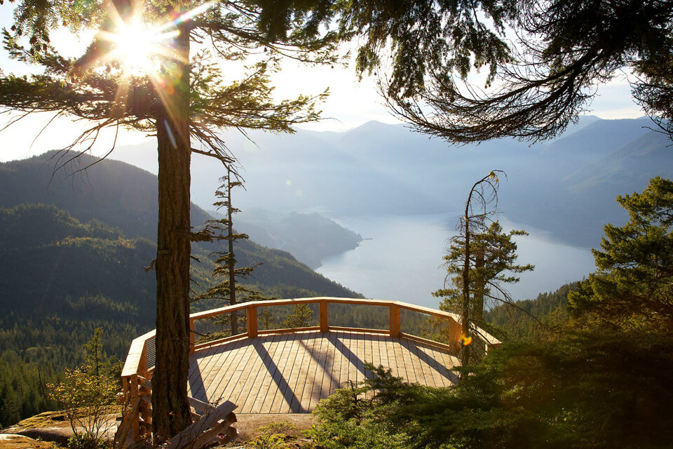 Photo of the Sea to Sky Gondola in Squamish, BC near Vancouver, BC is What to do in Vancouver with Kids #squamish #seatosky #seatoskygondola #vancouver #bc #britishcolumbia #explorebc #canada