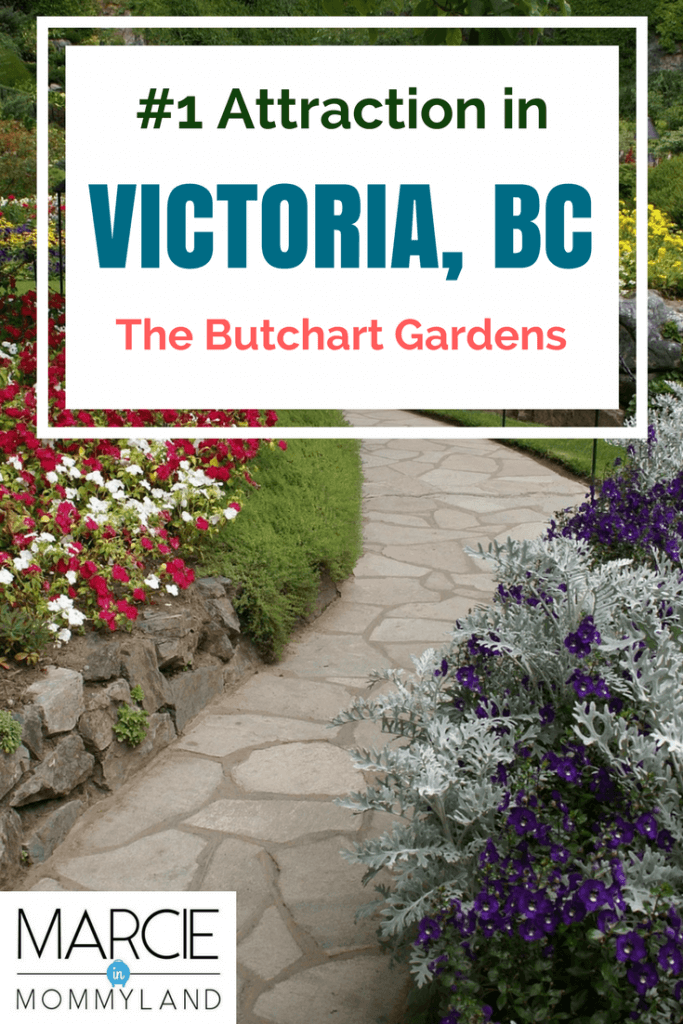 The Butchart Gardens in Victoria, BC