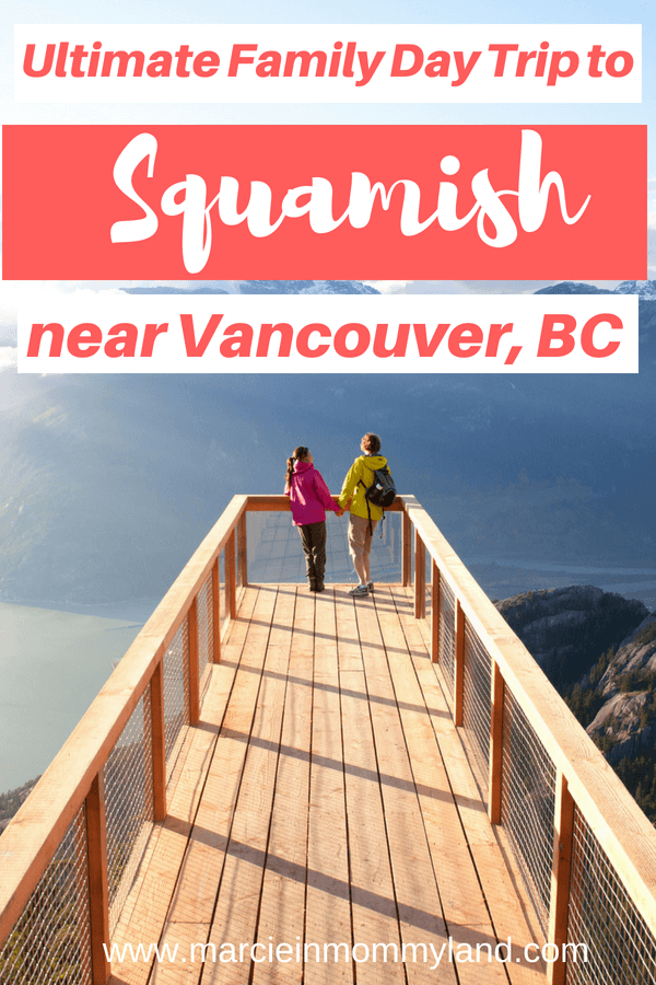 Ultimate Family Day trip to Squamish, BC includes the Sea to Sky Gondola and a train museum #exploresquamish #seatoskygondola #canadawitkids