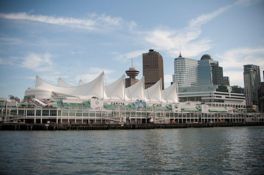 Photo of Vancouver waterfront from a Vancouver harbour cruise in British Columbia Canada #vancouver #harbourcruise #vancouverwaterfront #canada #explorebc #boatride #britishcolumbia #canada