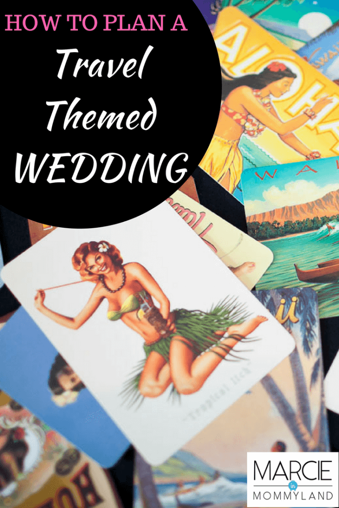 How to plan a travel themed wedding. #weddinginspo #travelthemedwedding #weddingtheme
