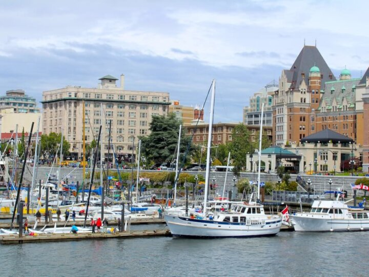 Weekend getaway from Seattle to Victoria, BC in Canada