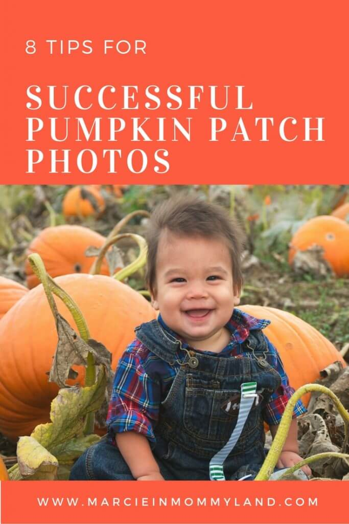 8 tips for successful pumpkin patch photos