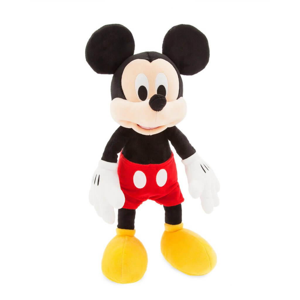 Bring Mickey Mouse plush when heading to Disneyland with toddlers