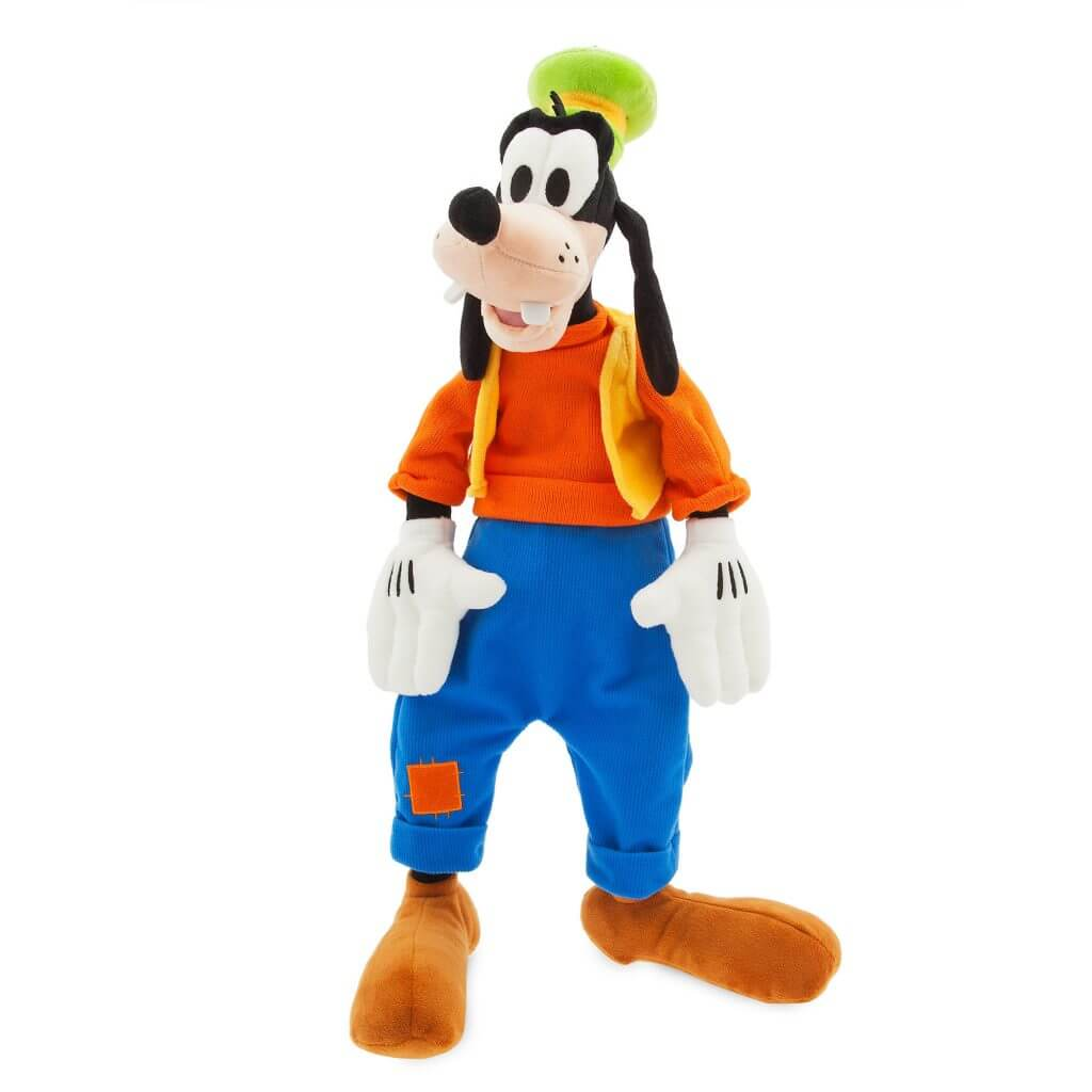 This Goofy plushy was essential for character dining at Disneyland with toddlers