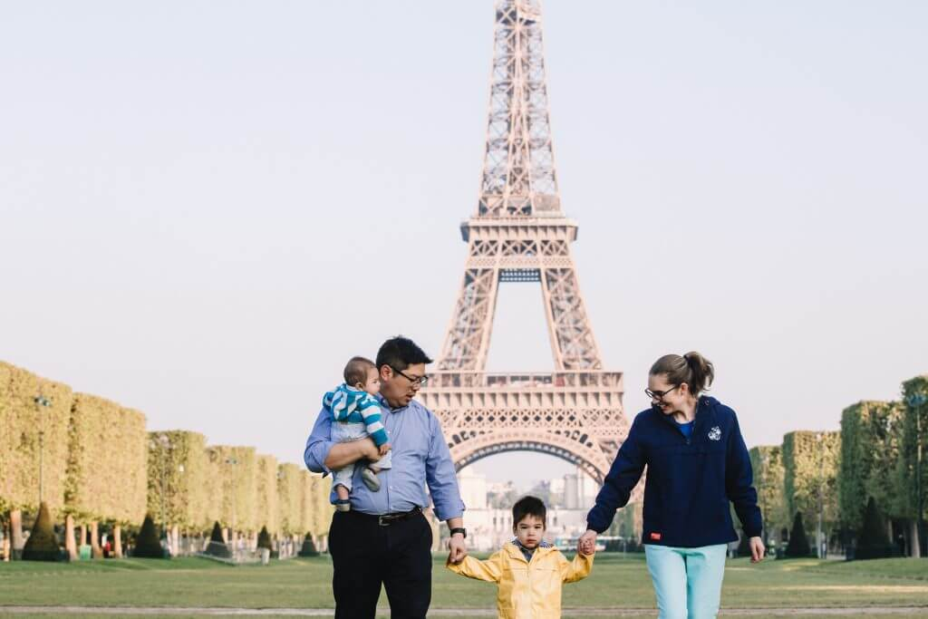Traveling With An Infant To Paris