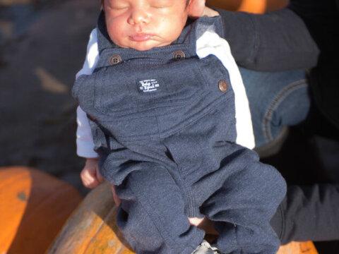 Baby's First Pumpkin Patch