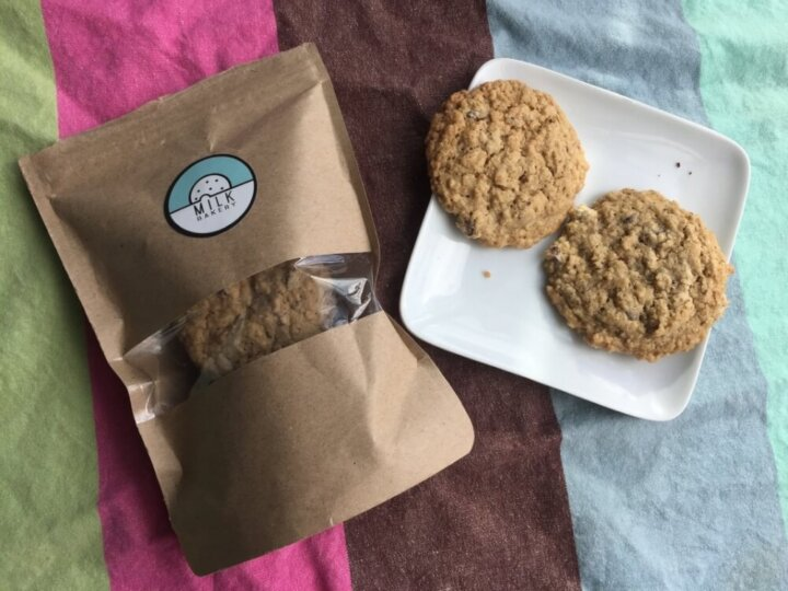 Milk Bakery Lactation Cookie Review