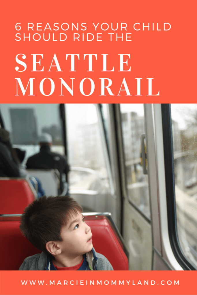 6 Reasons Your Child Should Ride the Seattle Monorail
