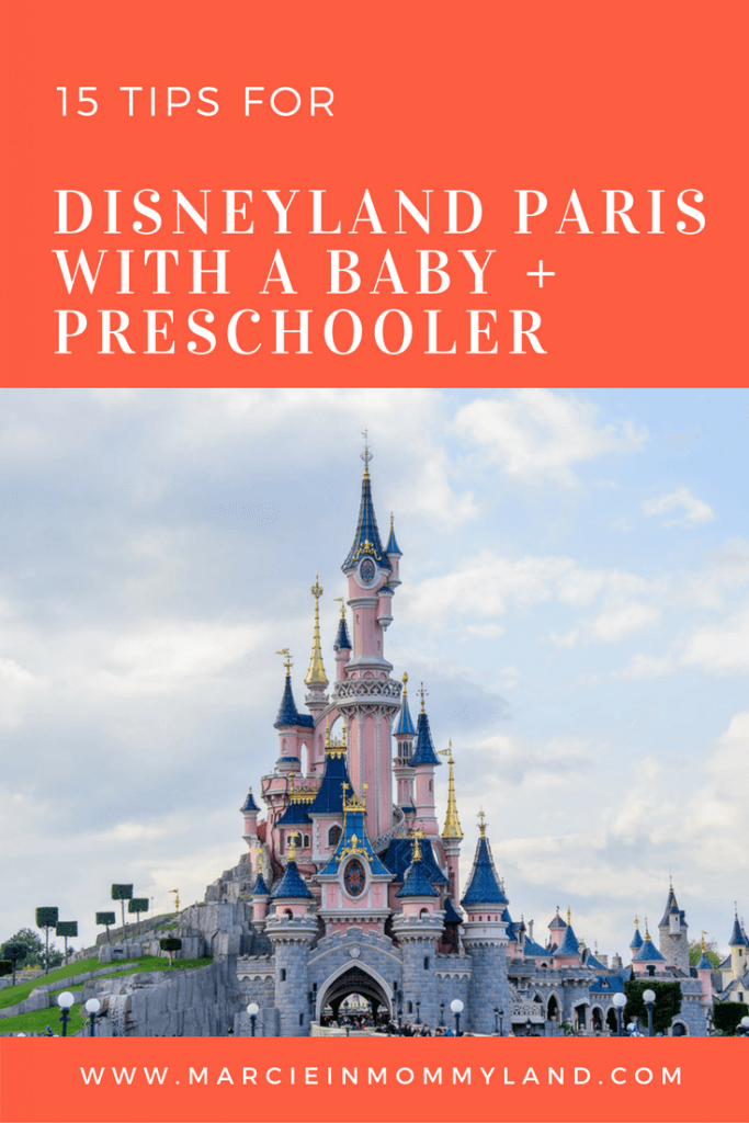 | Disneyland Paris with a Baby and Preschooler featured by top Seattle family travel blog, Marcie in Mommyland