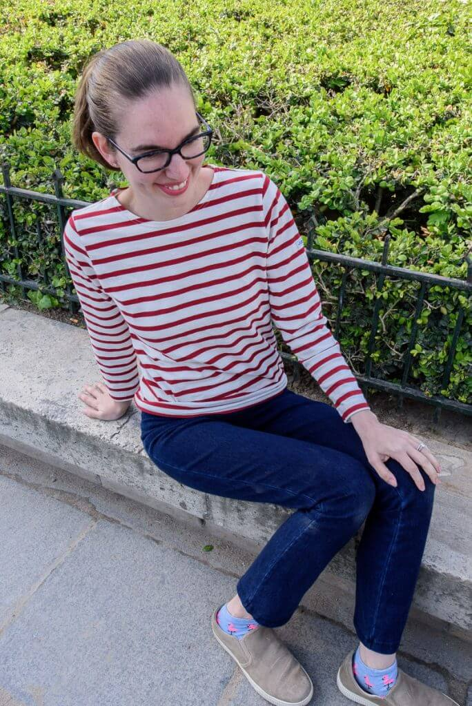 Breton Shirt in Paris