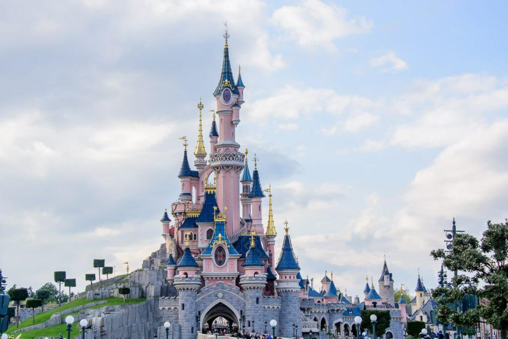 Photo of the Castle during our Disneyland Paris day trip.
