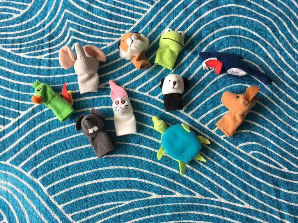 IKEA finger puppets busy bag