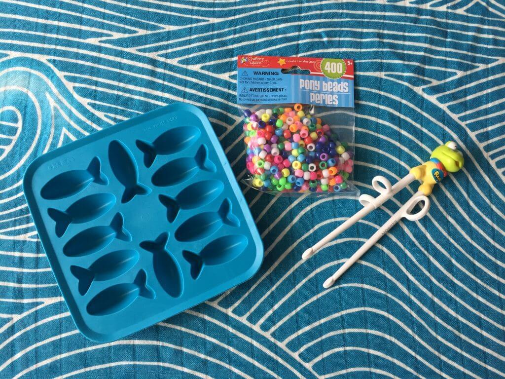 Chopstick busy bag