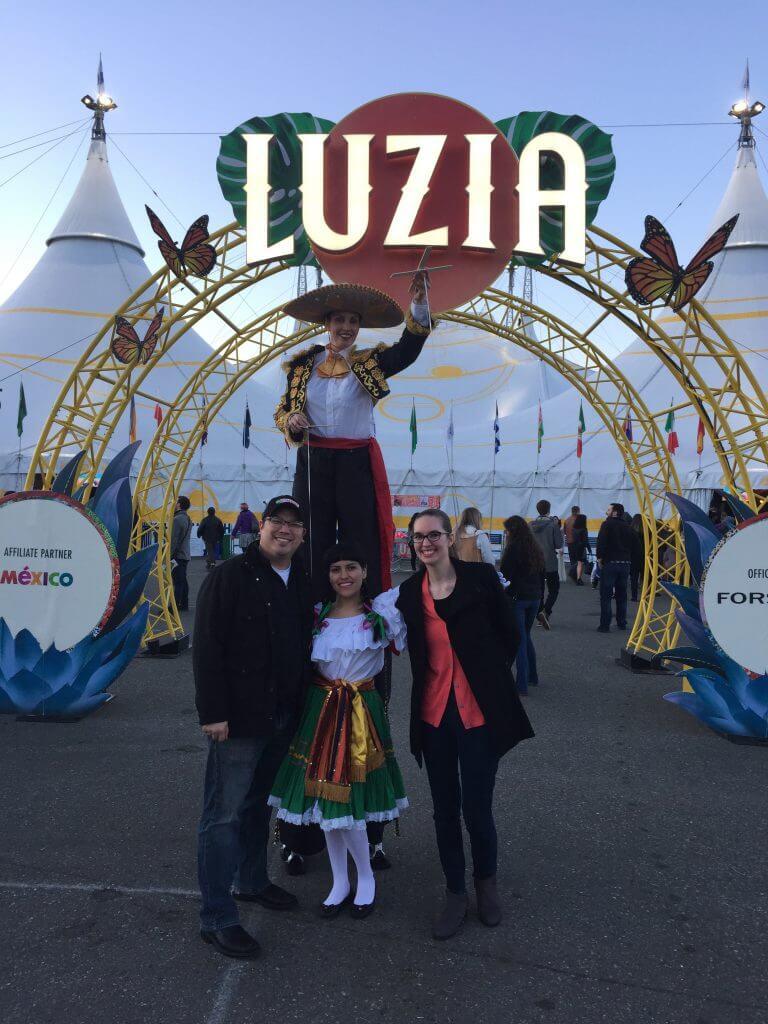 Opening Night of Cirque du Soleil Luzia