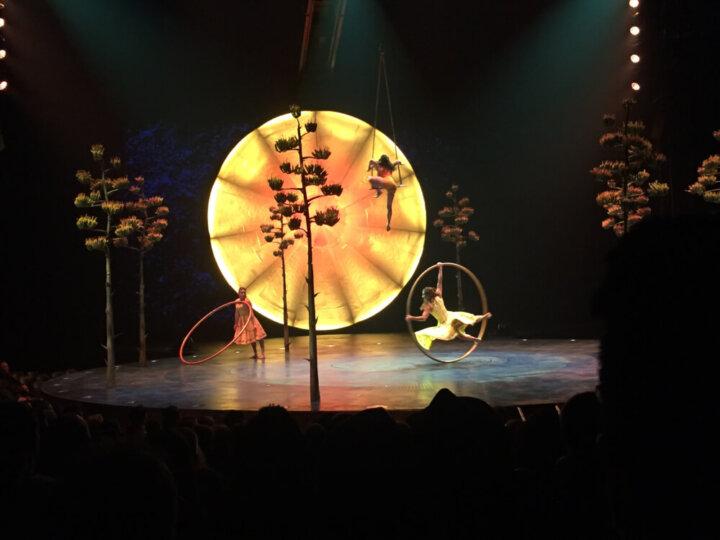 Cirque du Soleil Luzia at Marymoor Park in Redmond, WA