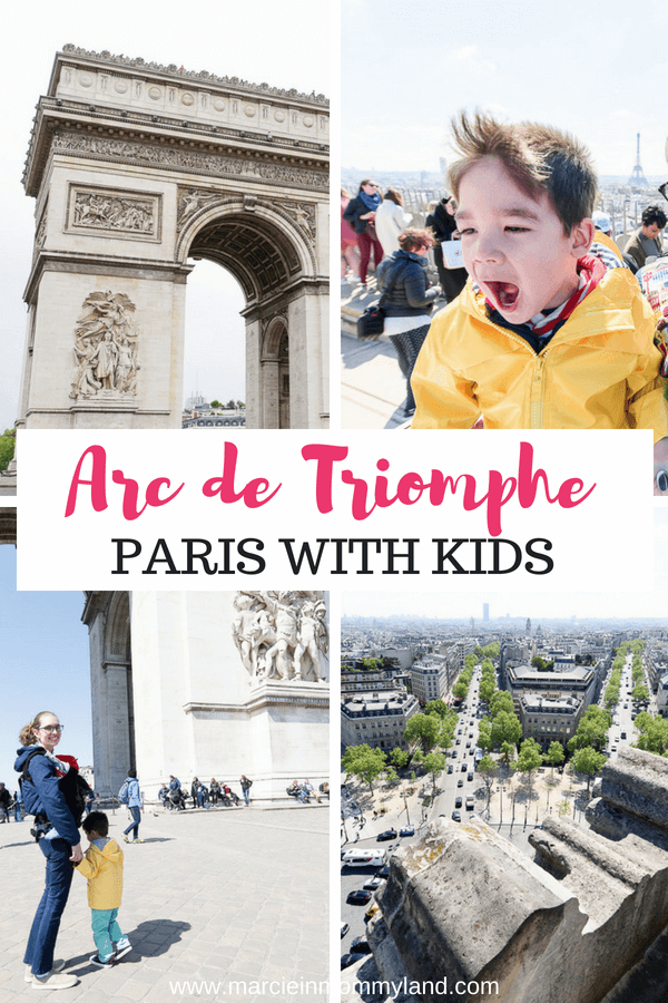 Top tips for the Arc de Triomphe with Kids, which is a top Paris attraction for families #arcdetriomphe #paris #pariswithkid #familytravel #paris
