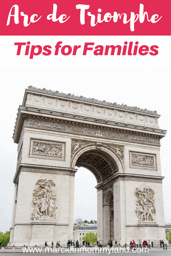Wondering if the Arc de Triomphe in Paris is kid-friendly? Find out how you and your family can easily get to the top of the Arc de Triomphe with my tips for families #arcdetriomphe #pariswithkids #familytravel #parisfrance #parisattractions #visitparis