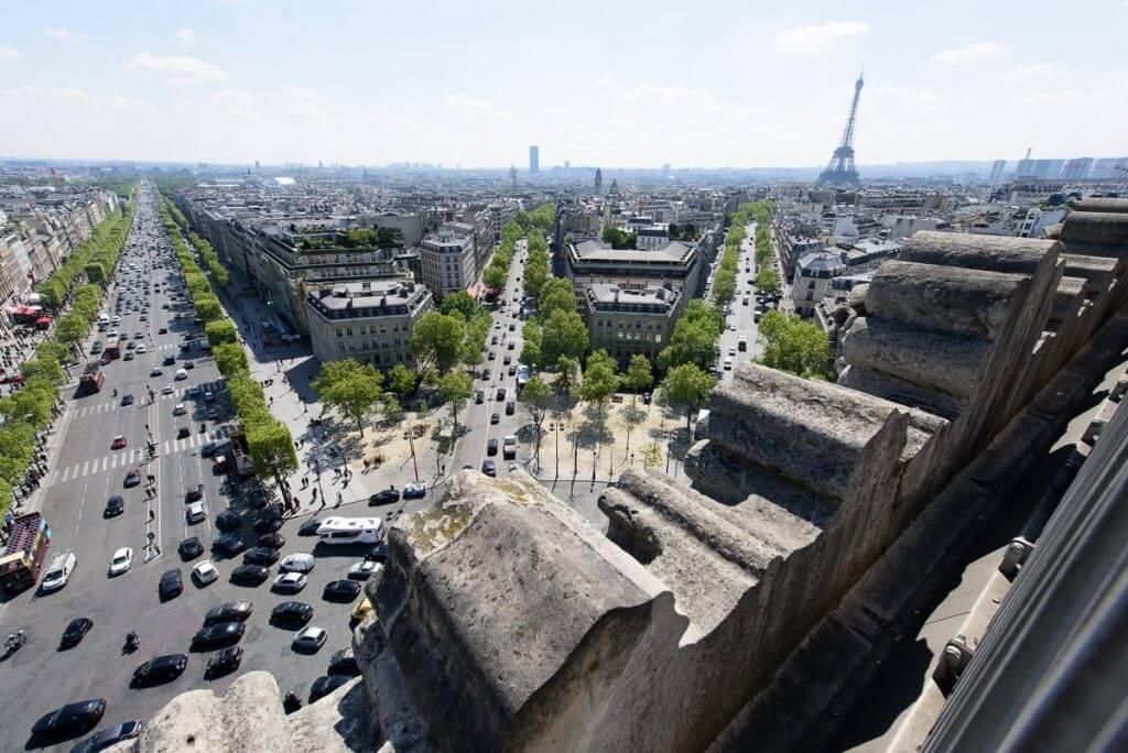 Terrace of Arc de Triomphe