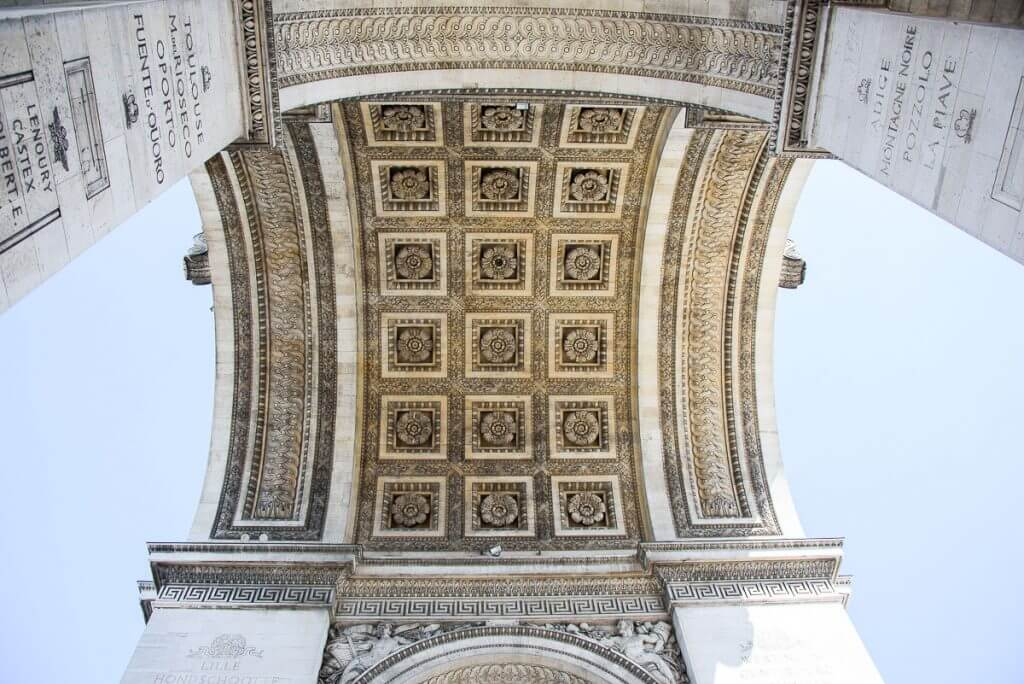 Photo of the roses under the Arc de Triomphe, a top Paris attraction for families #arcdetriomphe #napoleon #parismonument #visitparis