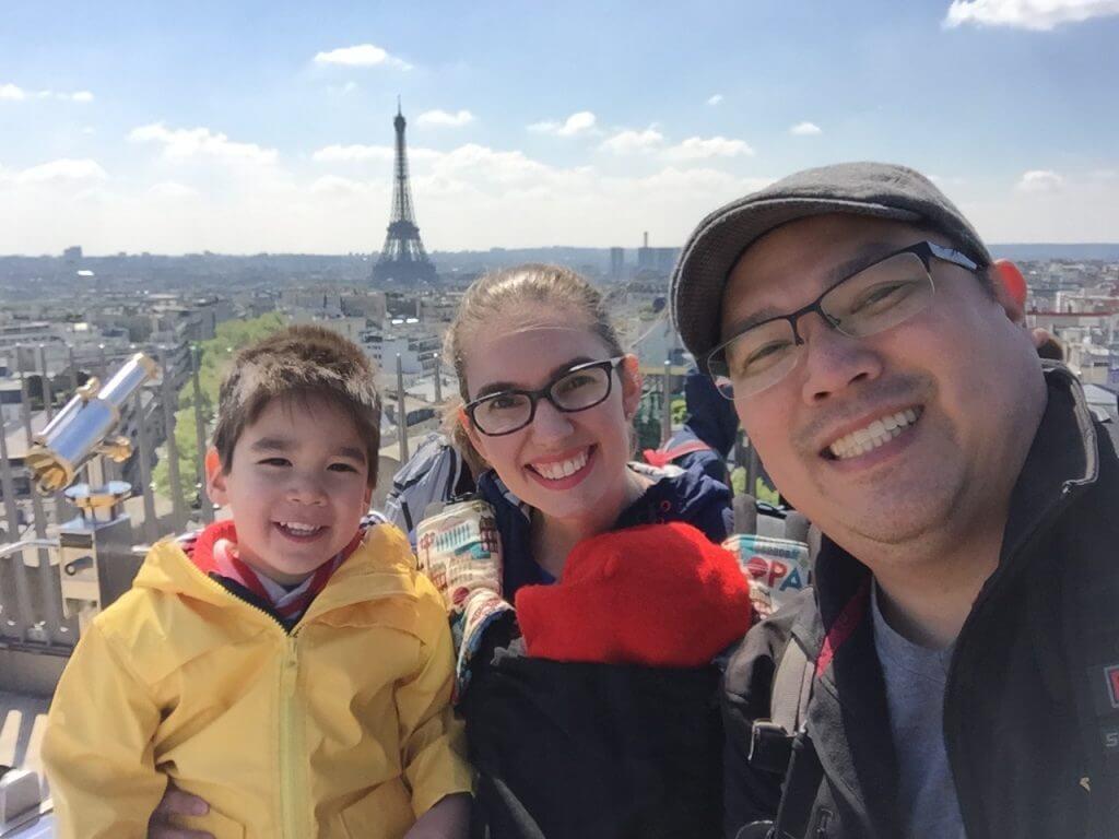Selfie at Arc de Triomphe
