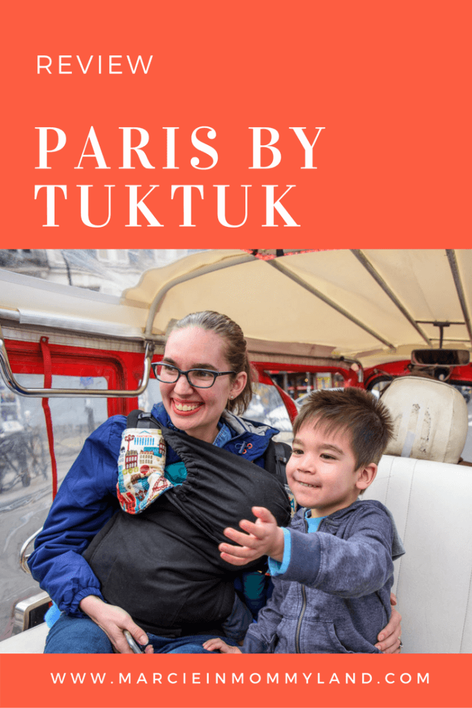 Paris by TukTuk is a great Paris tour for families who want to explore Paris without walking #paris #parisbytuktuk