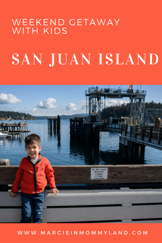 Weekend Getaway with Kids on San Juan Island
