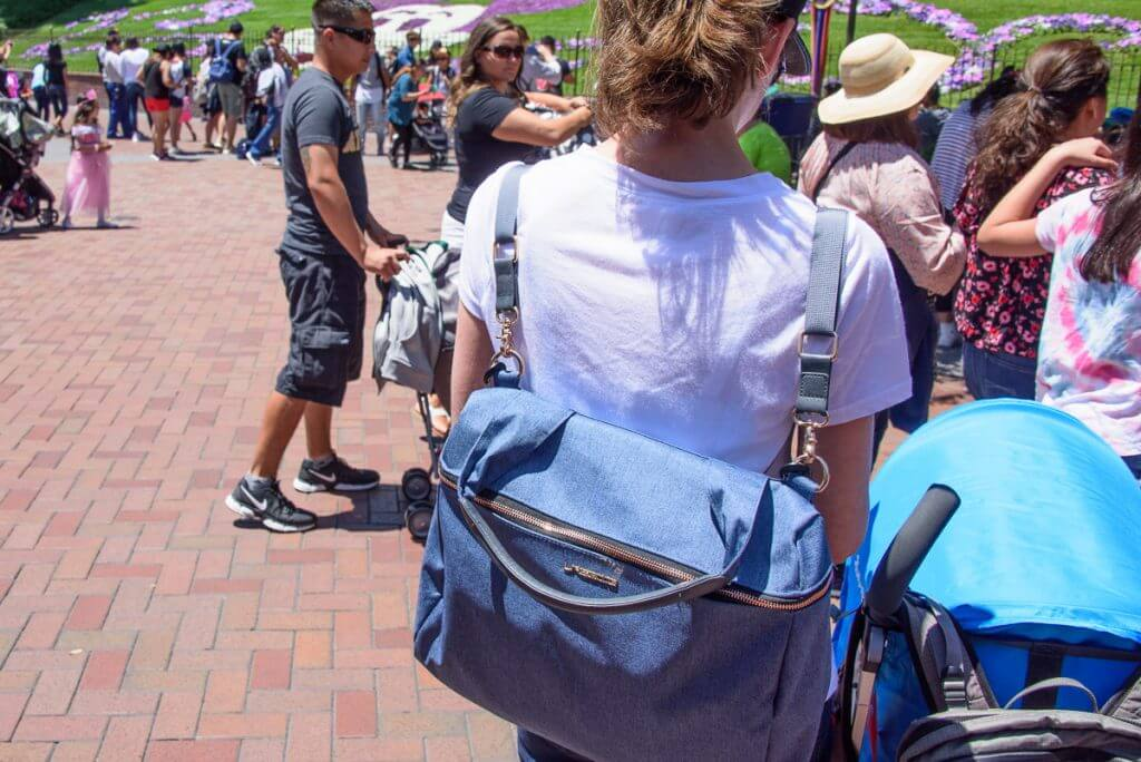 Lassig Glam Rosie diaper bag in Disneyland