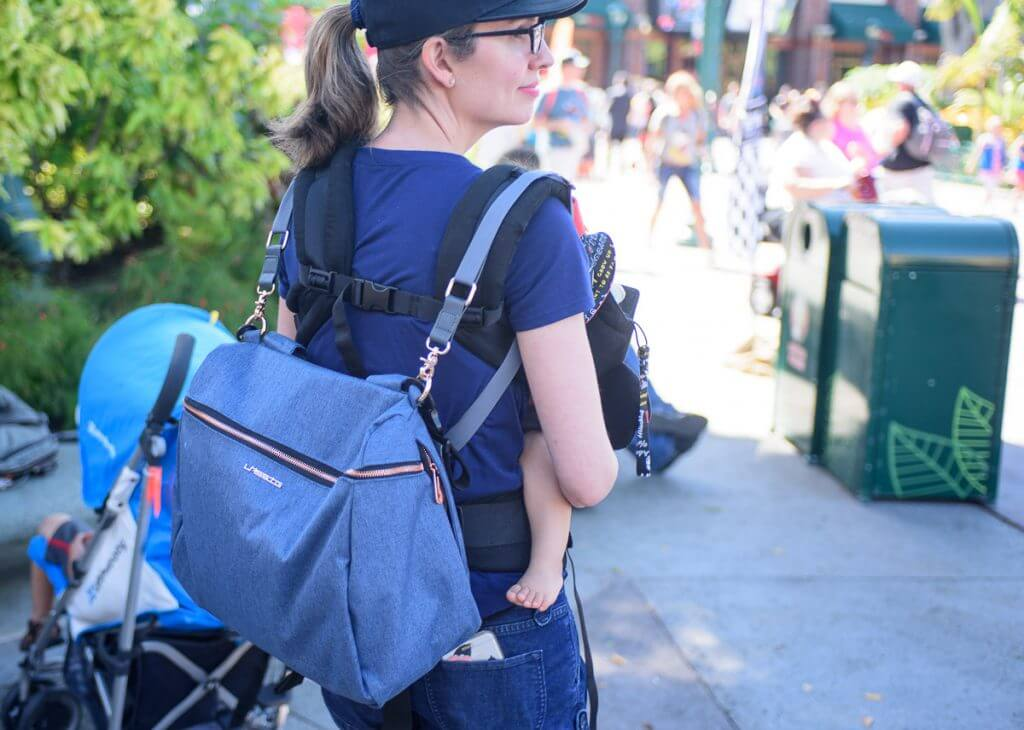 Lassig Glam Rosie Diaper Bag at Disneyland
