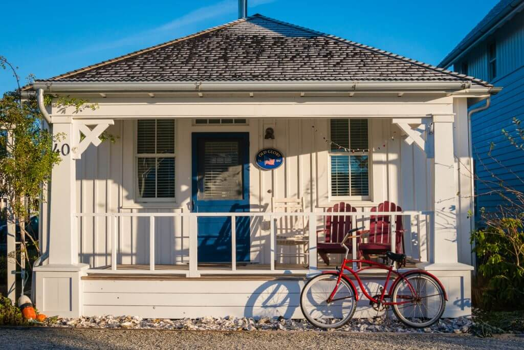 Photo of a Seabrook vacation rental in Seabrook, WA on the Washington State Coast in the Pacific Northwest #seabrook #seabrookwa #pnw #northwest #familytravel #washingtonstate #pnw