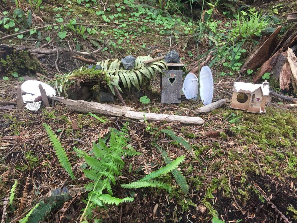 Gnome Houses at Seabrook, WA