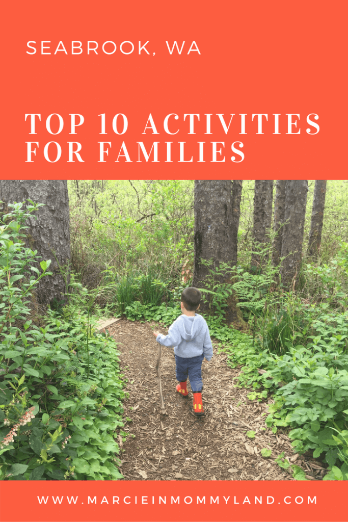 Top 10 Things To Do in Seabrook WA with Kids featured by top Seattle family travel blog, Marcie in Mommyland