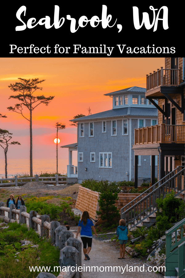 Seabrook, WA is the perfect PNW family vacation destination #seabrook #seabrookwa #pnw #washingtonstate #washingtoncoast #pacificnorthwest #familytravel | Top 10 Things To Do in Seabrook WA with Kids featured by top Seattle family travel blog, Marcie in Mommyland