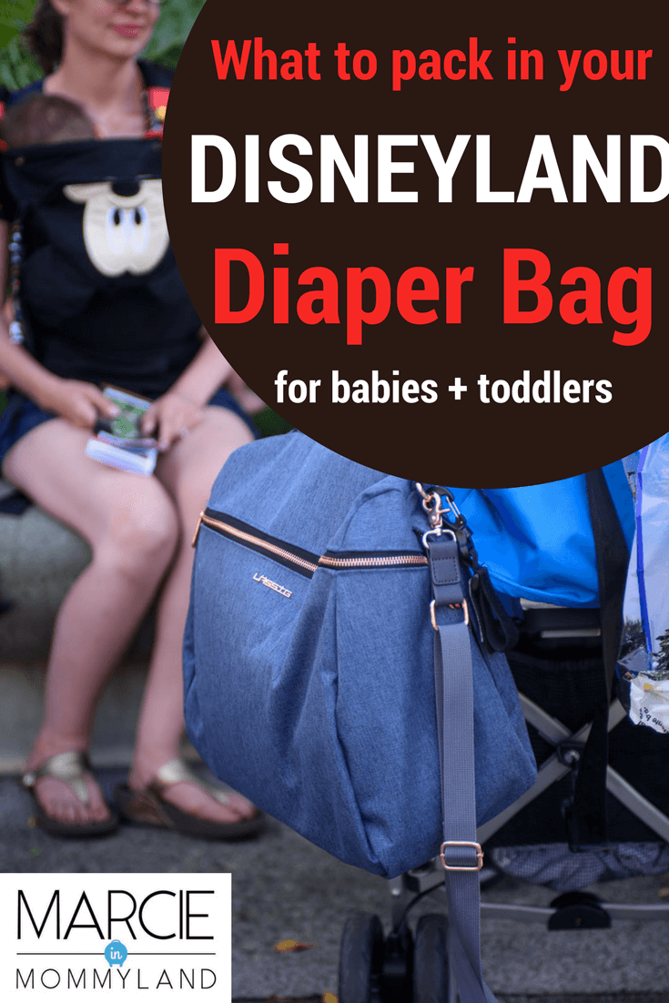 31751593e97 What to Take to Disneyland with Babies + Best bag for Disney