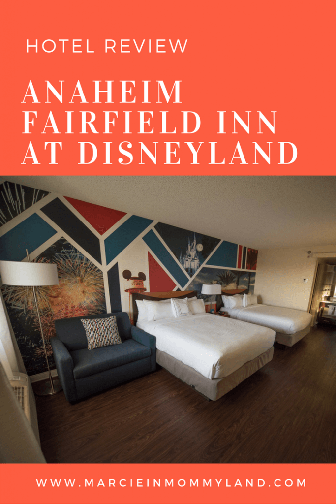 Anaheim Fairfield Inn Disneyland Hotel Review