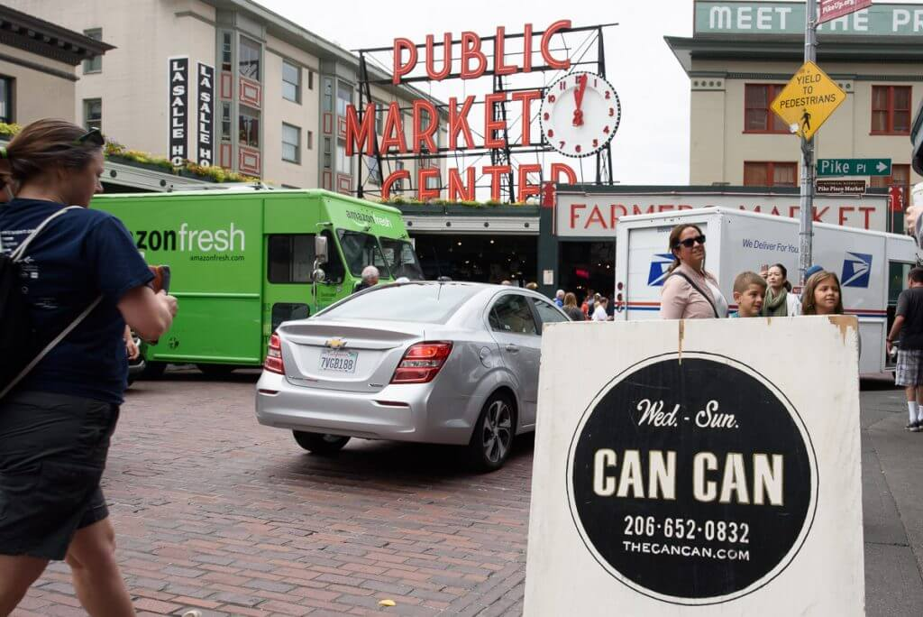 Can Can at Pike Place Market